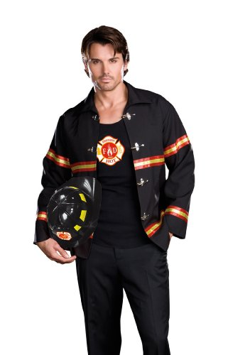 Dreamguy by DG Brands Men's  Firefighter Costume, Smoking Hot Fireman