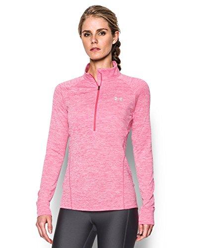 Under Armour Women's Tech 1/2 Zip Twist, Pink Sky (600), X-Large