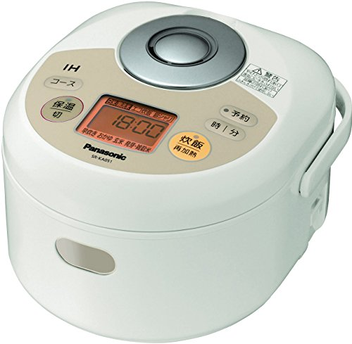 Panasonic IH Jar Rice Cooker SR-KA051-N Noble champagne (Japan Import) (Rice Cooker 8 Cup Panasonic compare prices)
