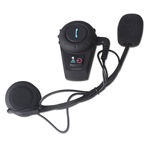 Riorand Waterproof 500M Gps Interphone Bluetooth Motorcycle Motorbike Bluetooth Helmet Intercom Headset,Great For Riding And Skiing