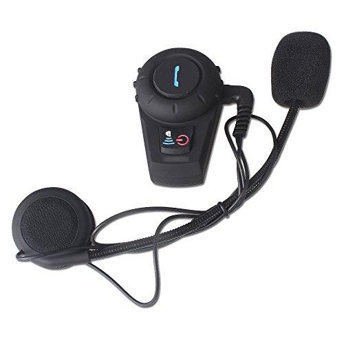 Riorand Waterproof 500M Gps Interphone Bluetooth Motorcycle Motorbike Bluetooth Helmet Intercom Headset,Great For Riding And Skiing