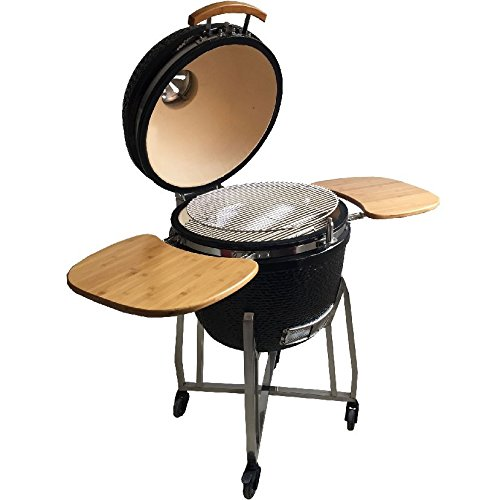 syntrox germany kamado grill karnado 1 barbecue bbq. Black Bedroom Furniture Sets. Home Design Ideas