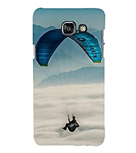 Paragliding 3D Hard Polycarbonate Designer Back Case Cover for Samsung Galaxy A3 (2016) :: Samsung Galaxy A3 2016 Duos :: Samsung Galaxy A3 2016 A310F A310M A310Y :: Samsung Galaxy A3 A310 2016 Edition