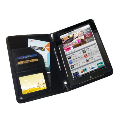 TrendyDigital PadGear(TM) Folio Case, Cover, Pouch with Viewing Stand for Apple iPad 2, Black