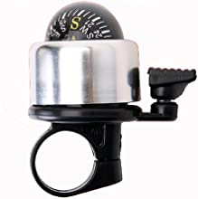 New Metal Ring Bicycle Bell For Bike With Compass