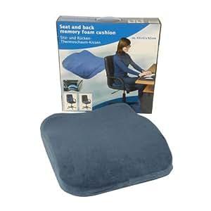edco memory foam seat back cushion automotive. Black Bedroom Furniture Sets. Home Design Ideas