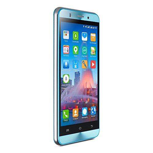 Xgody X15 Celular Unlocked 5 Inch HD Android 5.1 Dual SIM GPS MTK6580 Quad Core Blue (Celular Android Quad Core compare prices)