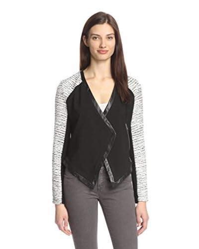 Chelsea Flower Women's Harper Tweed Combo Jacket