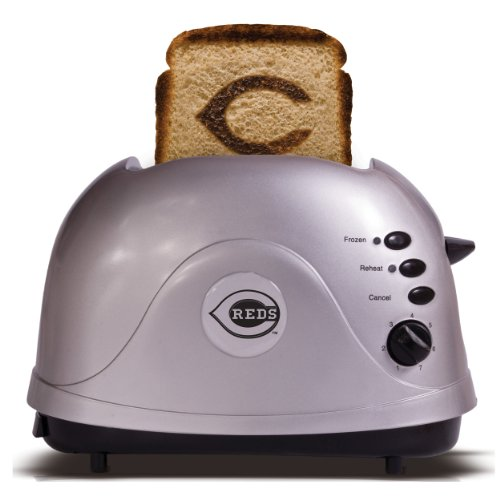 MLB Cincinnati Reds Protoast Team Logo Toaster (Toaster With Images compare prices)