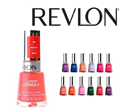 Lot-of-10-Revlon-Top-Speed-Finger-Nail-Polish-Color-Lacquer-All-Different-Colors-No-Repeats