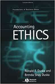 Review of Accounting Ethics - Research Paper Example