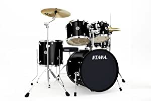 Tama Swingstar Drum Set : tama swingstar standard 5 piece drum set black musical instruments ~ Hamham.info Haus und Dekorationen
