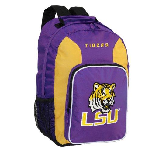 NCAA LSU Fightin Tigers Southpaw Backpack, Purple
