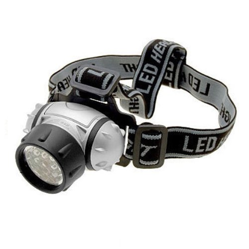 Vktech Led Flashlight Waterproof Head Lamp 19 Led Torch Headlight