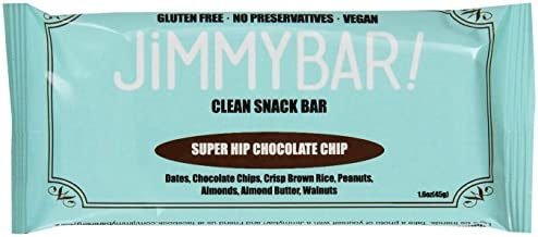 JimmyBar Super Hip Chocolate Chip 16 Ounce Pack of 12