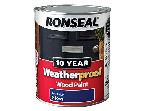 ronseal-wprbg750-750-ml-10-year-weatherproof-exterior-gloss-wood-paint-blue