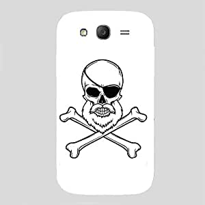 Back cover for Samsung Galaxy Grand 2 Bearded Skull 2