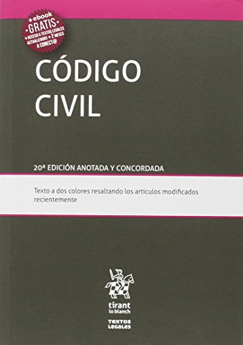 Código Civil 20ª Edición 2016 (Textos Legales)