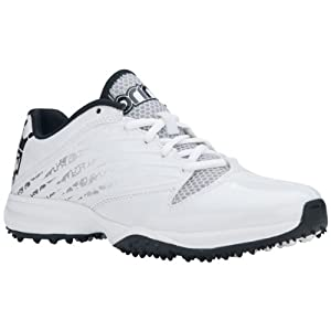 Brine Empress White Ladies Turf Lacrosse Cleats - 10 by Brine