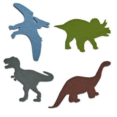 Felt Dinosaur Set - 4 Pieces