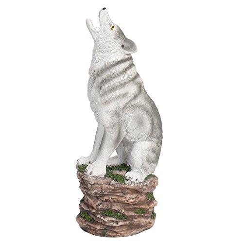 Hosley 39 S 12 High Resin Wolf Incense Holder Home Garden Decor Home Fragrances Holders