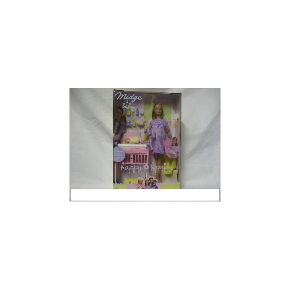 MATTEL BARBIE 56663   Barbie Happy Family Midge und Baby