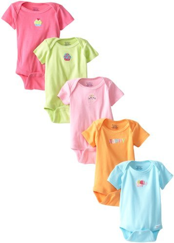 Solid Color Baby Onesies front-1032761