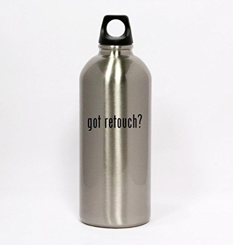 got-retouch-silver-water-bottle-small-mouth-20oz