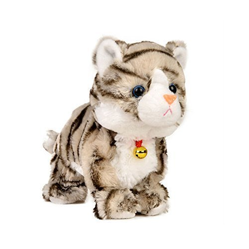 Sound-Control-Electronic-Pet-Electronic-Toys-Cat-Robot-Cat-Interactive-Toys-Best-Gift-for-Children-Gray