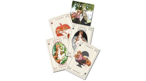 Spice & Wolf Holo Playing Cards