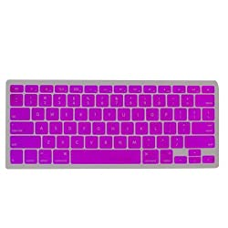UniCase PURPLE Keyboard Silicone Cover Skin Protector for Macbook 13 - Inch Unibody / Macbook Pro 13, 15, 17 inches
