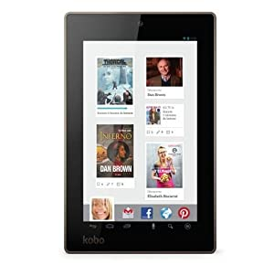 "Kobo Arc 7 8 GB Tablet - 7"" - MediaTek 1.20 GHz - Black at Electronic-Readers.com"