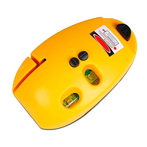 Portable Right angle (90 degree) Horizontal Vertical Laser Level Tool Meter Tester (Pan Am Badge compare prices)