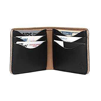 Saddleback Leather Medium Bi-fold Wallet in Black