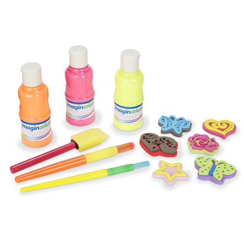 Imaginarium Neon Paint Set - 1