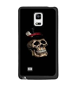 PrintDhaba Skull D-2371 Back Case Cover for SAMSUNG GALAXY NOTE EDGE (Multi-Coloured)
