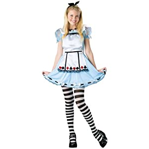 Alice In Wonderland Costume Tween Costume