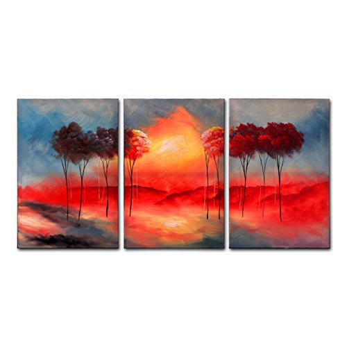 fly-spray3-piece-100-hand-painted-oil-paintings-landscape-panels-stretched-framed-ready-hang-fire-re