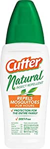 Cutter 95917 Natural Insect Repellent, 6-Ounce Pump Spray