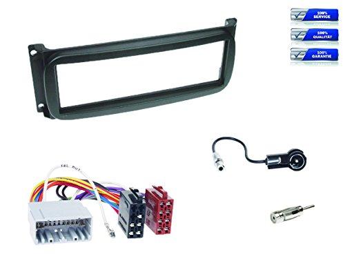 1-DIN-Radioeinbau-Komplettset-CHRYSLER-diverse-Modelle-ab-1999-schwarz