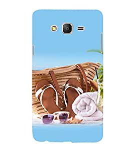 printtech Ethnic Love Heart Back Case Cover for Samsung Galaxy On5