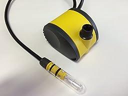 United Pump B350-12 Volt 85 GPH, 12 Volt Pump, 10 Watt Light & Transformer