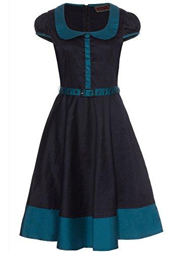 Voodoo Vixen -  Vestito  - Donna Blu blu