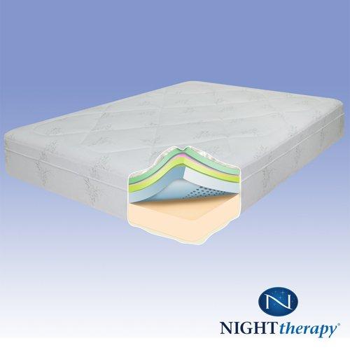 """12"""" Therapeutic Pressure Relief Memory Foam Mattress"""