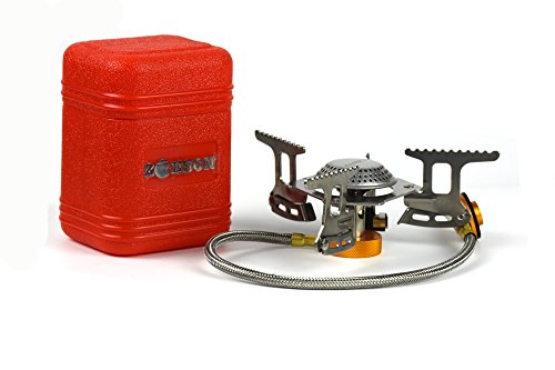 Zoeson Outdoor Portable Split Gas Stove (Collapsible Stove Pipe compare prices)