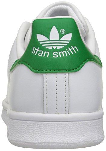 Adidas Performance Women's Stan Smith W Fashion Sneaker, White/White/Fairway, 8 M US