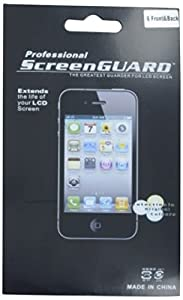 Delton DSPIP4FB6PK Premium Scratch Resistant Screen Protector for iPhone 4 - 6 Pack Retail Packaging - Clear