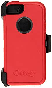 OtterBox Carrying Case for iPhone 5 - Retail Packaging - Red/Black