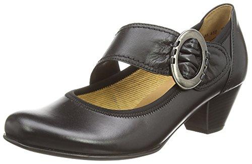 GaborGalaxy - Mary Jane donna , Nero (Nero (Black Leather)), 42 EU