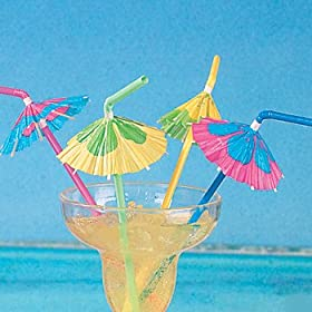 Drink Umbrellas! Available at Amazon.com.
